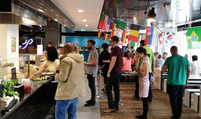Google cafe at London HQ