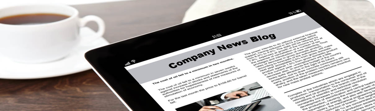 Company Blog Management