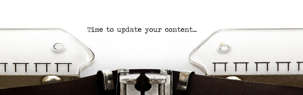 Updating your content with content marketing services