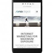 Sonet Digital on mobile