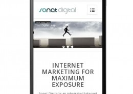 Sonet Digital on mobile